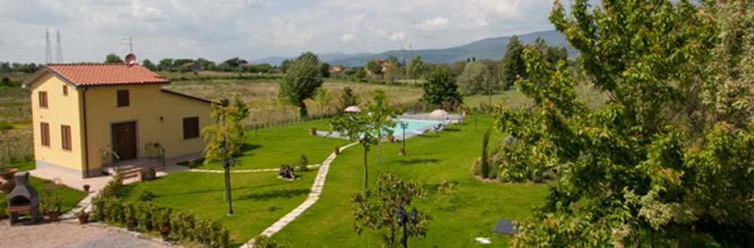 Holiday house in Cortona, Tuscany